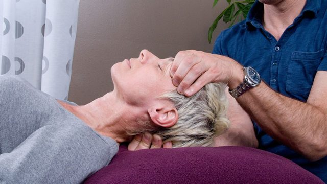 Exercises for people with temporomandibular joint problems (TMJ) problems